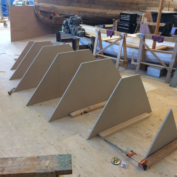 Seven station molds lofted